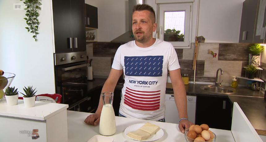 Samo u 'Večeri za 5 na selu': Danas kuha moslavački Bradley Cooper!
