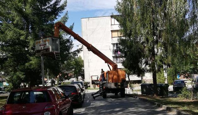 Najveći dugoreški mjesni odbor, Trešnjevka, dobio novu led rasvjetu, moderne klupe za odmor građana stigle na nekoliko lokacija