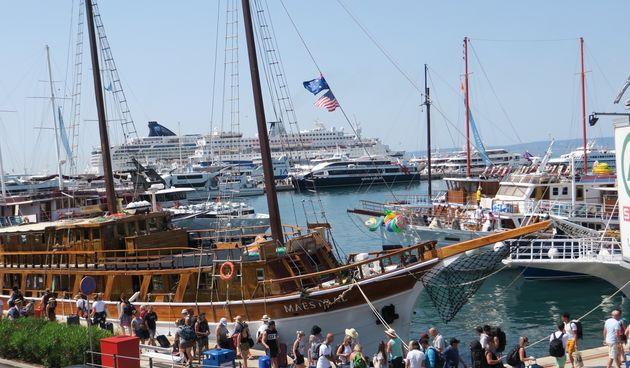 Split, turisti