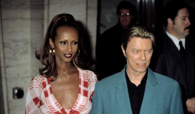 David Bowie & supruga
