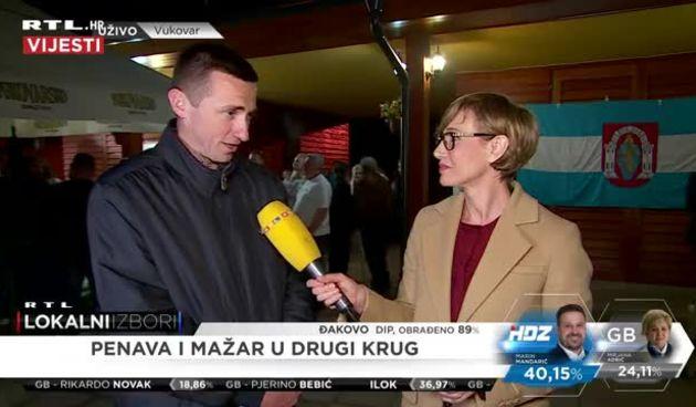 Kandidat za gradonačelnika Vukovara Ivan Penava o prvim rezultatima (thumbnail)