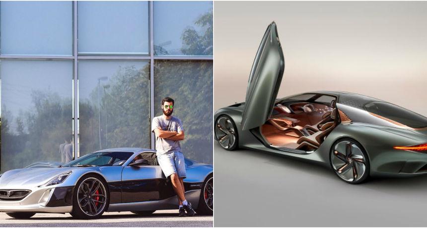 Automobilski div 'kopirao' Matu Rimca: Pogledajte njegov futuristički električni automobil