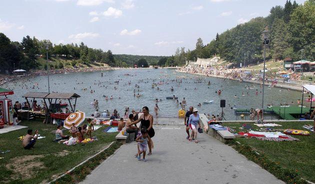 orahovačko jezero