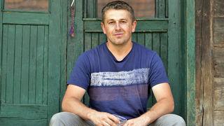 Dragan Ljiljak je farmer iz Velikog Obljaja kraj Gline