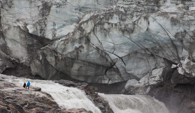 Ledenjak, Grenland