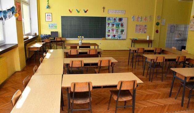 škola razred učionica