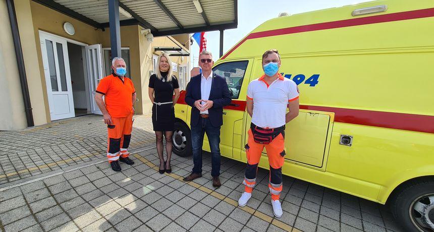 DAN HITNE SLUŽBE Gradonačelnik Srpak: 'Hvala vam što brinete o zdravlju građana Murskog Središća'