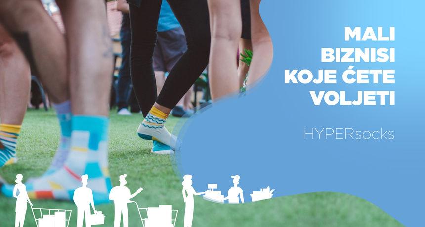 Najbolji prijatelji proizvode šarene hrvatske čarape koje možete kupiti rasparene: 'Kroz rad se i zabavljamo'