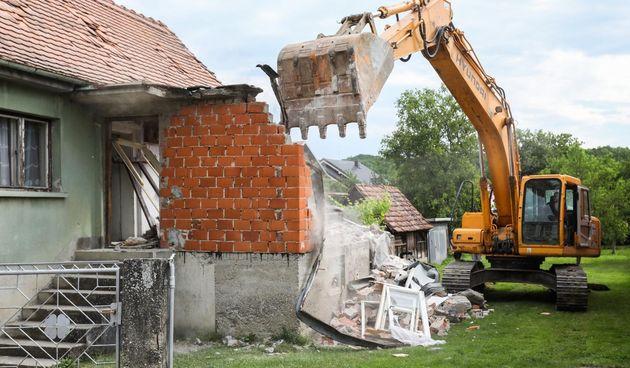 Rušenje Zagreb potres
