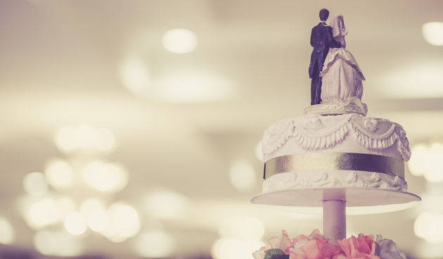 Vjenčanje, svadbena torta