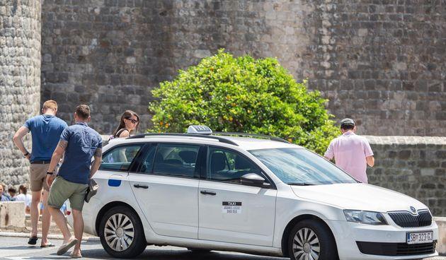 Uber u Dubrovniku