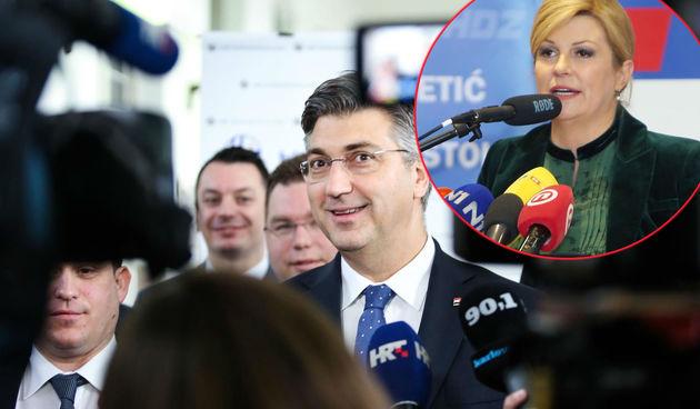 Plenković otkrio što predsjednica radi prije debate: 'Priprema se temeljito za RTL-ov duel'