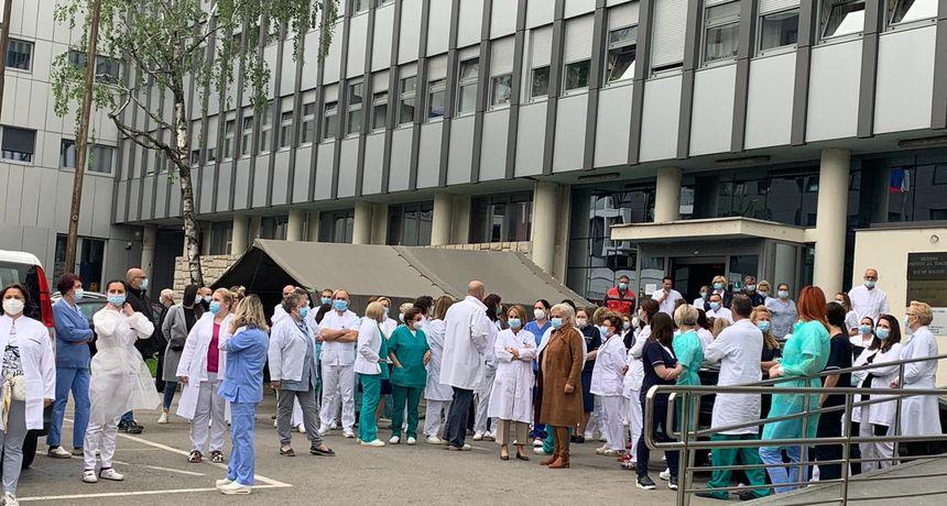 Prosvjed djelatnika Instituta za tumore zbog Dijane Zadravec: 'Kolegici je jutros pozlilo zbog nje'