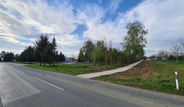 MURSKO SREDIŠĆE Spajanje Ul. kralja Zvonimira i Tekstilne ulice mnogima će olakšati odlazak do groblja ili trgovačkog centra