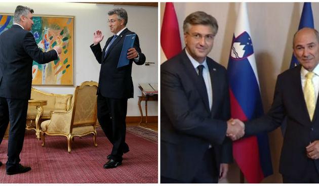 Plenković Milanović Janša