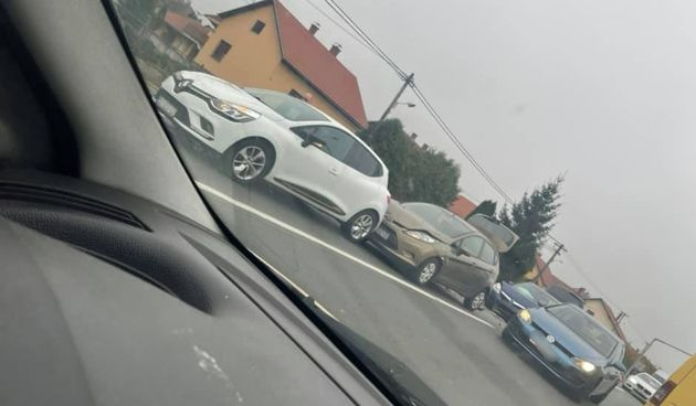 LANČANI SUDAR U NEDELIŠĆU Sudarila se tri osobna automobila