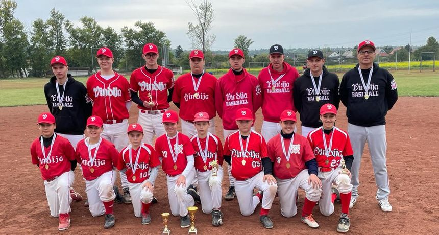 Baseball klub Vindija osvojio jaki turnir u Mađarskoj