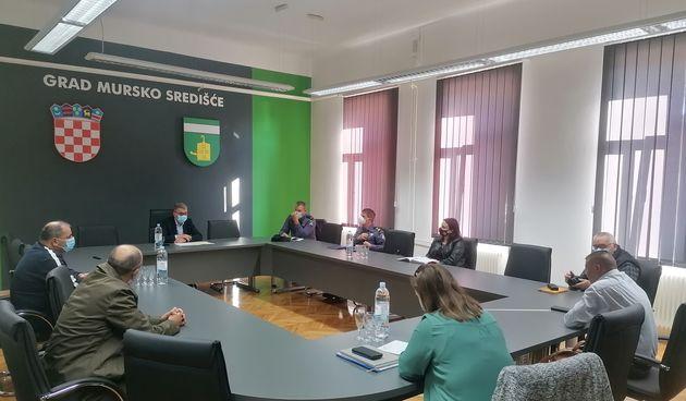 GRAD MURSKO SREDIŠĆE Održano Vijeće za prevenciju: 'Stanje sigurnosti je dobro'