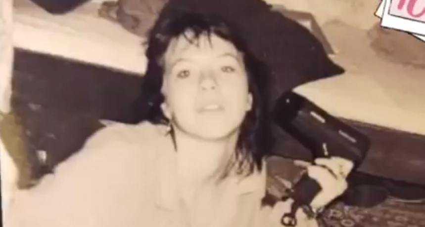 Možete li vjerovati da je ovo Lidija? '1997. godine sam imala crnu kosu i sobu u neredu'
