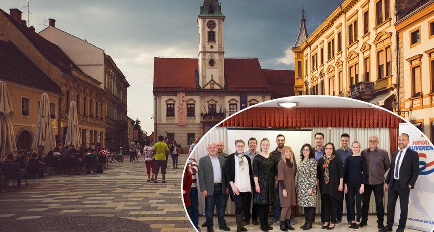 Suverenisti i Hrast zajedno s još nekoliko stranaka izlaze na lokalne izbore u Varaždinu