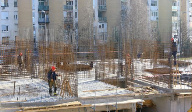 Napreduje gradnja Frak-ove zgrade u karlovačkom Novom centru - foto Kristina Štedul Fabac