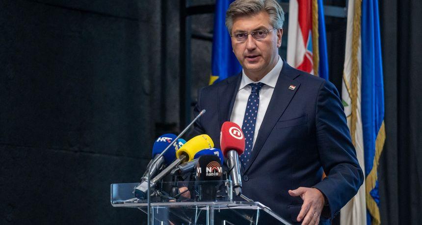 Plenković: Neću prihvatiti etiketu Ive Sanadera niti kriminalne organizacije