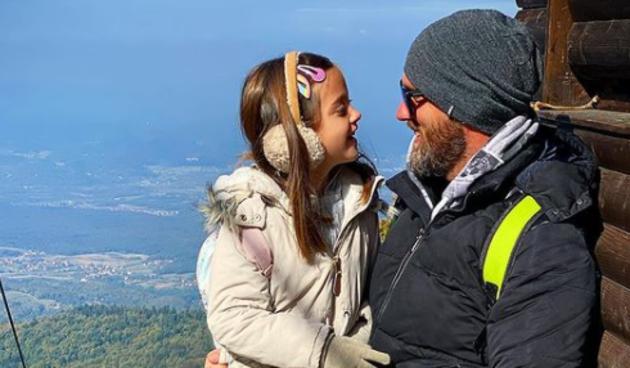 Trener Edo objavio dirljivu fotku s kćerkicom: 'Za mene ćeš uvijek ostati ova mala djevojčica'