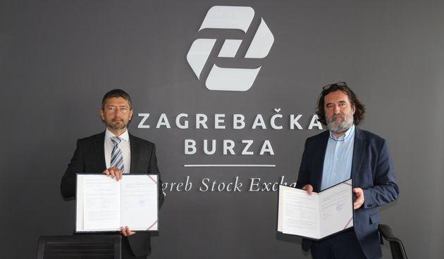 POTPISAN UGOVOR Obveznice Grada Varaždina na Zagrebačkoj burzi