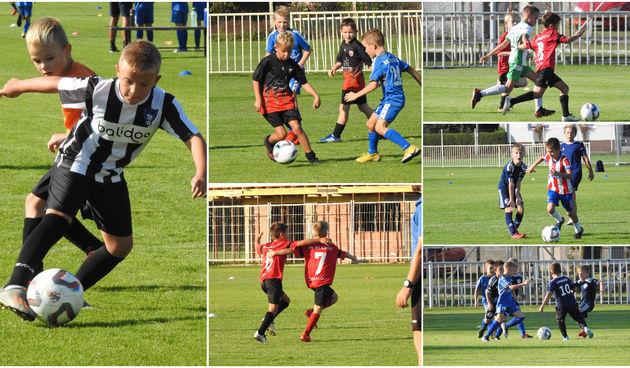 LINO LIGA Kotoriba ugostila prvo kolo jake turnir lige na kojoj sudjeluje osam škola nogometa