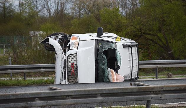Prometna nesreća na A1 kod Karlovca 19. travnja 2021.