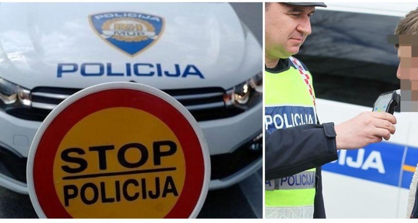 Policija na cestama od Ozlja do Slunja bila u vikend akciji - bilo 16 pijanih, rekorder imao skoro tri promila