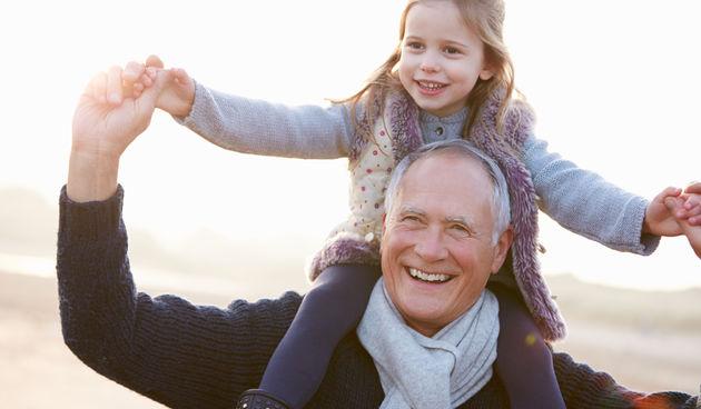 Djed i unuka, ilustracija