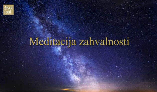 Vođena meditacija Mirjane Petković: Meditacija zahvalnosti (thumbnail)