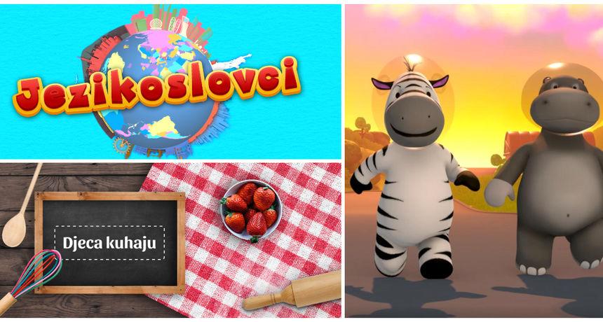 Pjevamo, kuhamo i učimo zajedno: Čak tri nova edukativno-zabavna formata od  danas pratite na Kockici!
