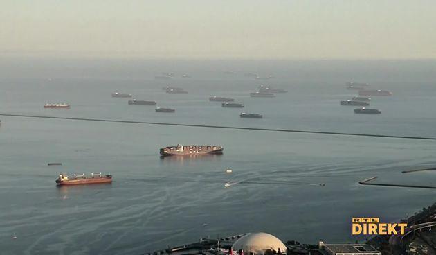kontejnerski brodovi, luka