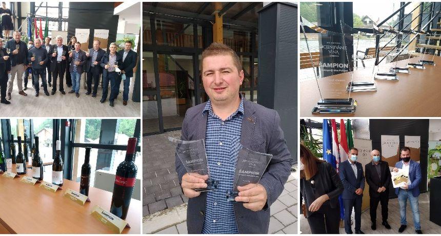 ŠTRIGOVA Nagrađeni vinari primili priznanja - Vinariji Cmrečnjak dvije šampionske titule