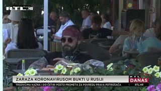 Veliki porast zaraženih covidom-19 u Moskvi: Kremlj to pripisao oklijevanju ljudi da se cijepe (thumbnail)