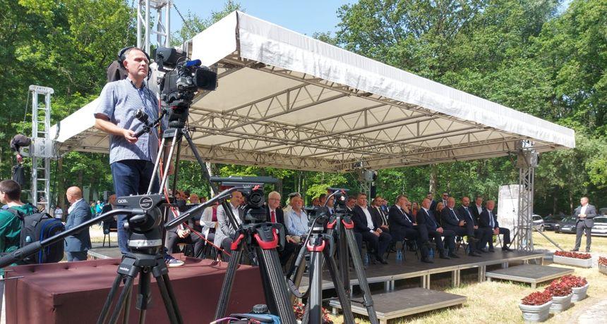 Cijeli državni vrh u Brezovici na obilježavanju 80. obljetnice početka antifašističkog otpora u Drugom svjetskom ratu