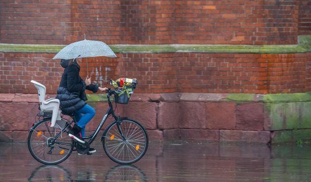 Kišan i prohladan siječanjski petak u Osijeku
