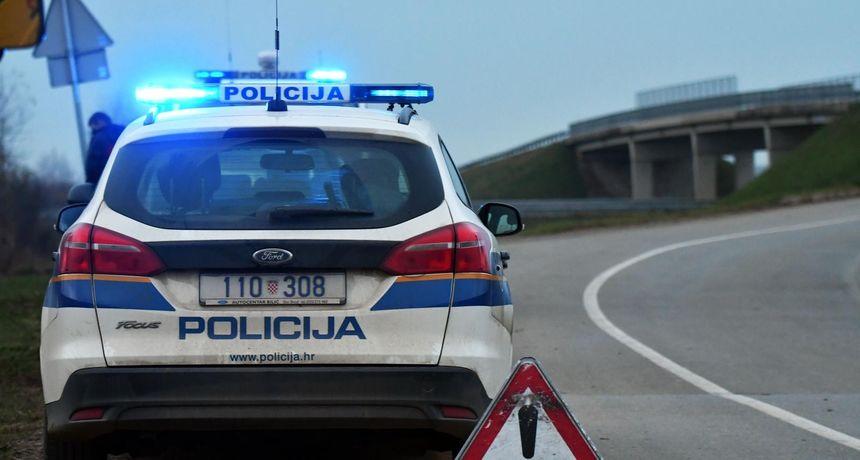 Drogirani mladić izazvao sudar ukradenim automobilom pa pobjegao s mjesta nesreće