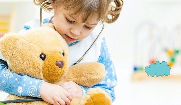 Dijete i medo, pedijatrija