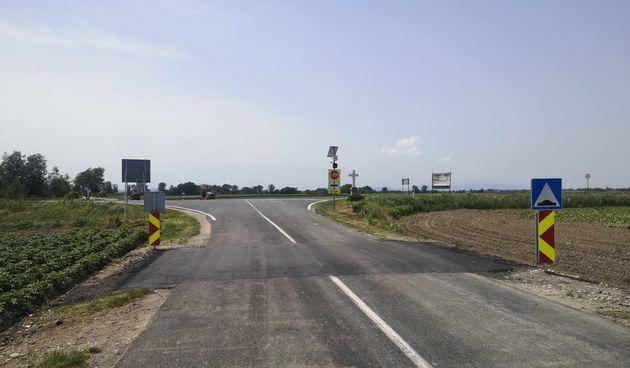 Na opasnom raskrižju između Male Subotice i Orehovice postavljeni usporivači prometa