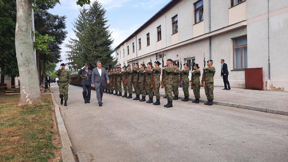 Predsjednik u Požegi na polaganju prisege 31. naraštaja ročnih vojnika