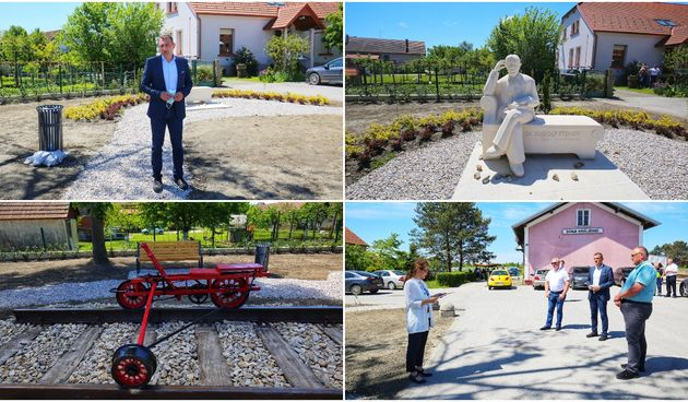 FOTO Svečano otvoren park dr. Rudolfa Steinera u Donjem Kraljevcu!