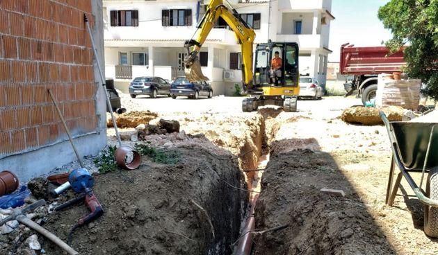 Komunalno društvo Pag radi novu trasu odvodnje na Blatu