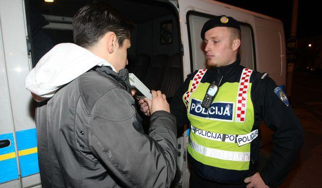 Policija, alkotest