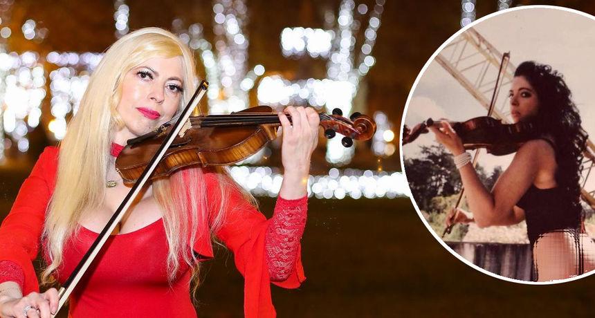 Violinistica Bianca u halterima je pozirala Lupinu prije 12 godina