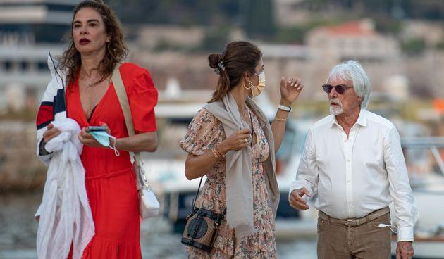Bernie Ecclestone i Fabiana Flosi