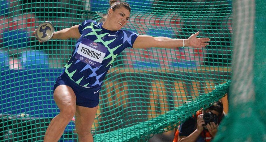 Dijamantna liga: Sandra Perković slavila u Firenci s 68.31 metara