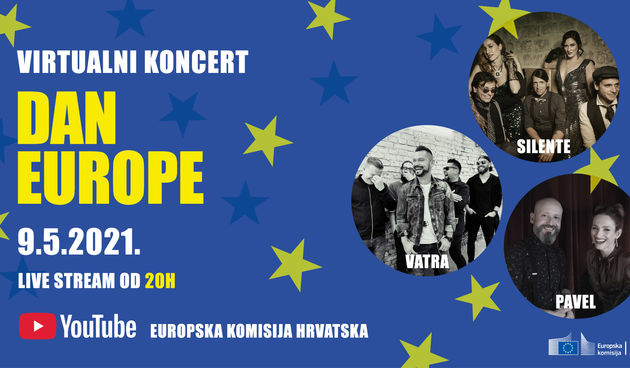 Proslavimo Dan Europe uz virtualni koncert
